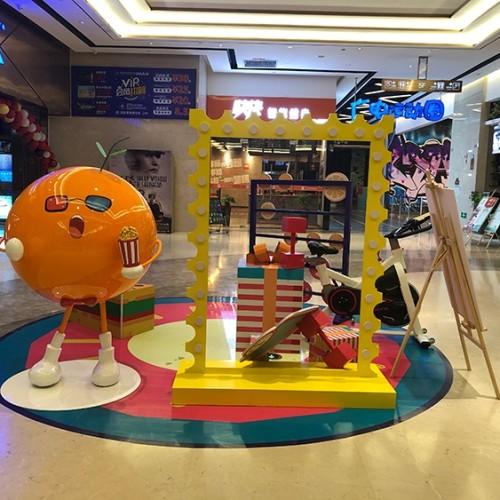 玻璃钢长方形花箱