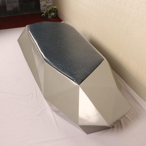 玻璃钢切边软包座椅