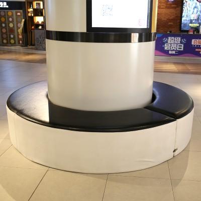 玻璃钢软包圆环坐凳