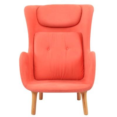玻璃钢软包短腿座椅