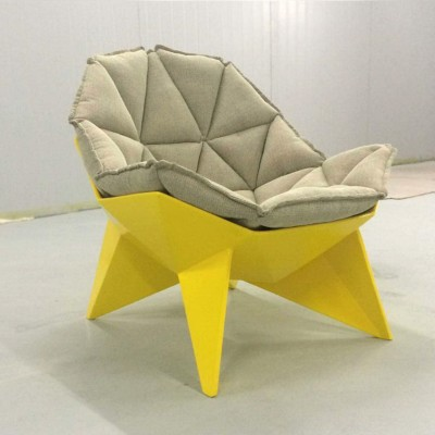 玻璃钢软包棱角座椅