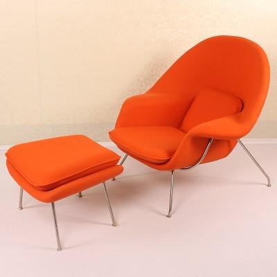 玻璃钢躺椅软包座椅