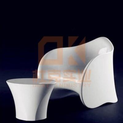 玻璃钢异形茶几座椅