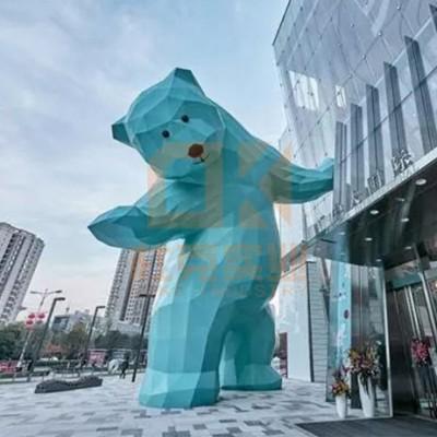 玻璃钢大型熊雕塑