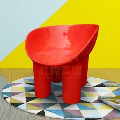 玻璃钢大象腿椅子