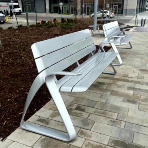 不锈钢简约座椅