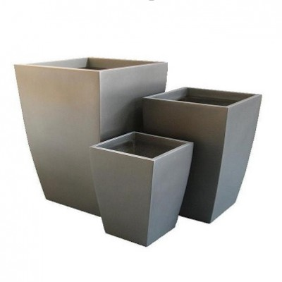 玻璃钢简约花箱
