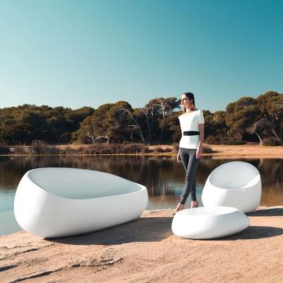 玻璃钢创意茶几座椅
