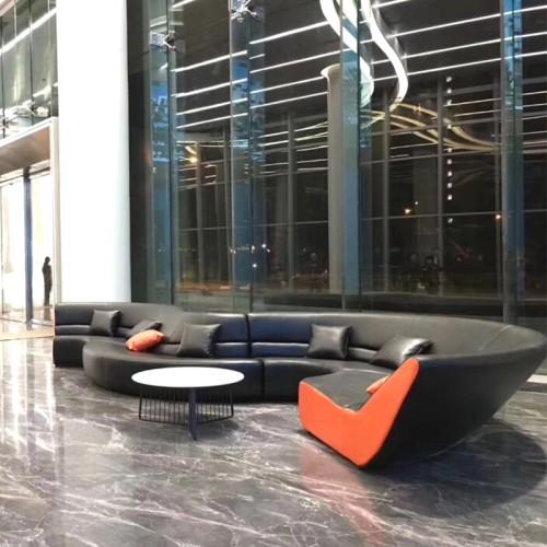 玻璃钢软包弯曲坐凳