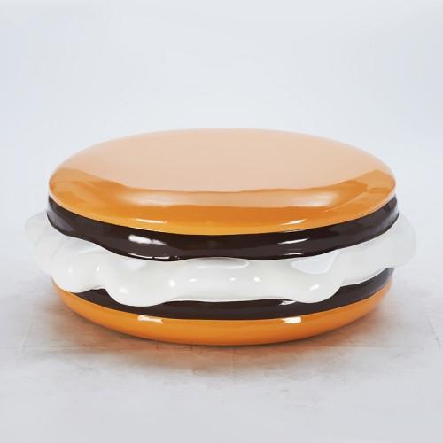玻璃钢汉堡坐凳