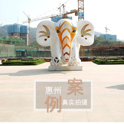 惠州碧桂园太东公园上城美陈案例