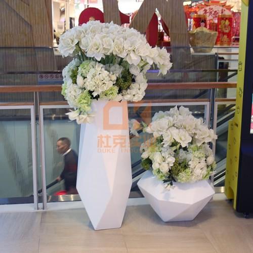 玻璃钢切面花盆
