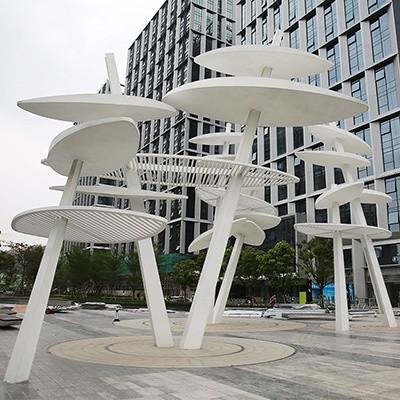 不锈钢科技树雕塑