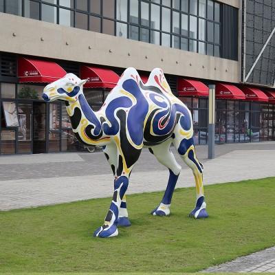 玻璃钢骆驼雕塑