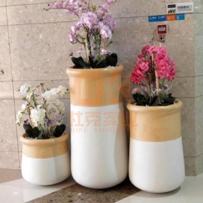 玻璃钢创意拼接花盆