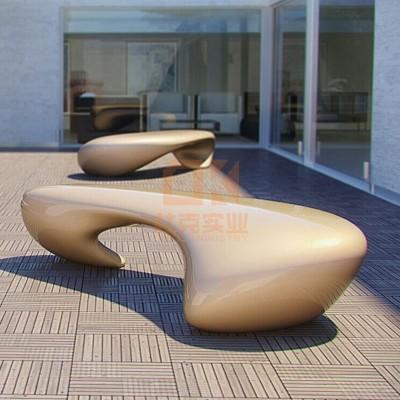 玻璃钢户外创意坐凳