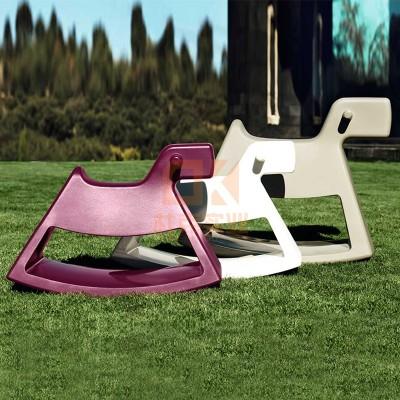 玻璃钢小马驹创意坐凳