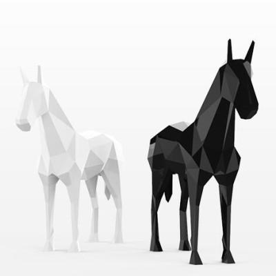玻璃钢马雕塑