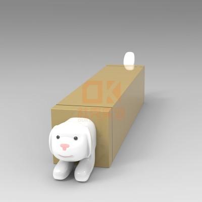 玻璃钢小狗创意坐凳