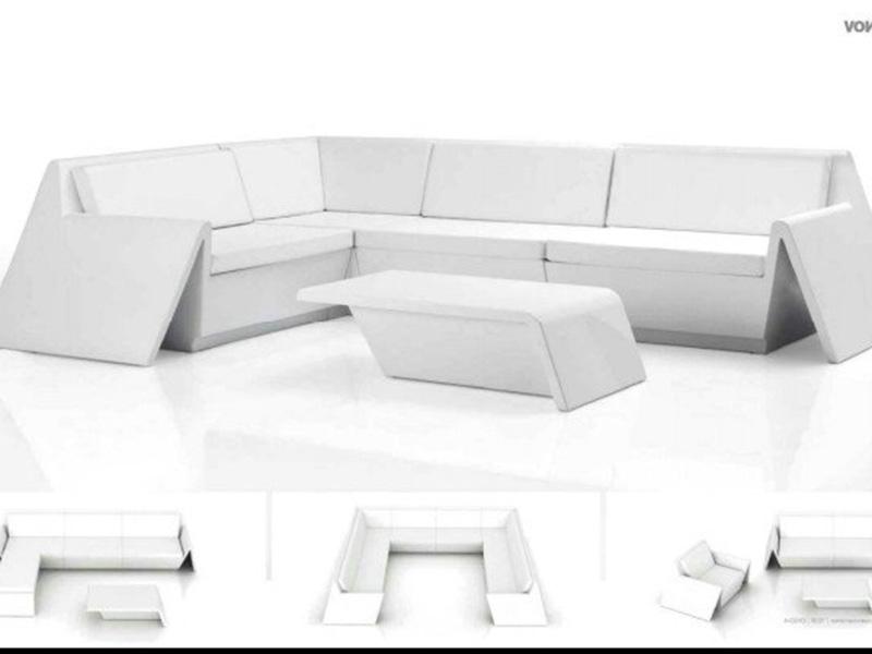 简约玻璃钢沙发座椅