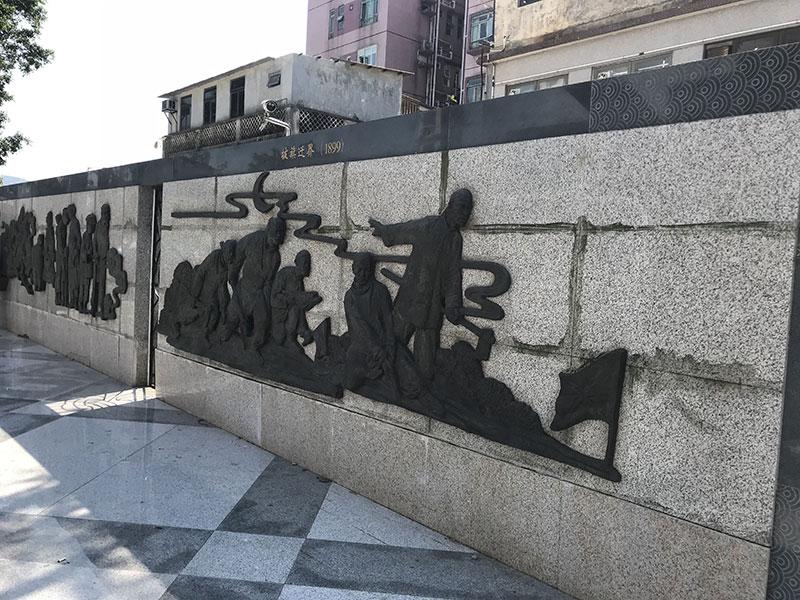 玻璃钢浮雕墙