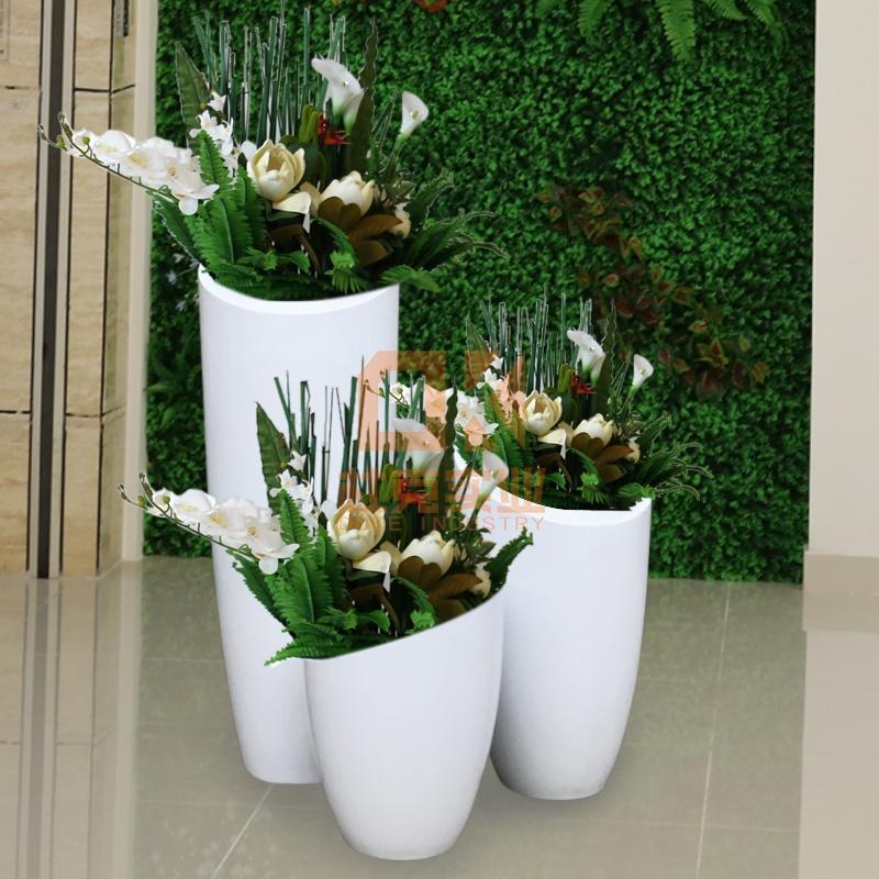 玻璃钢花盆尺寸及价格,玻璃钢工厂直销价格!