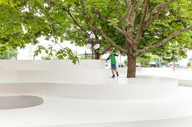 玻璃钢超大型树池