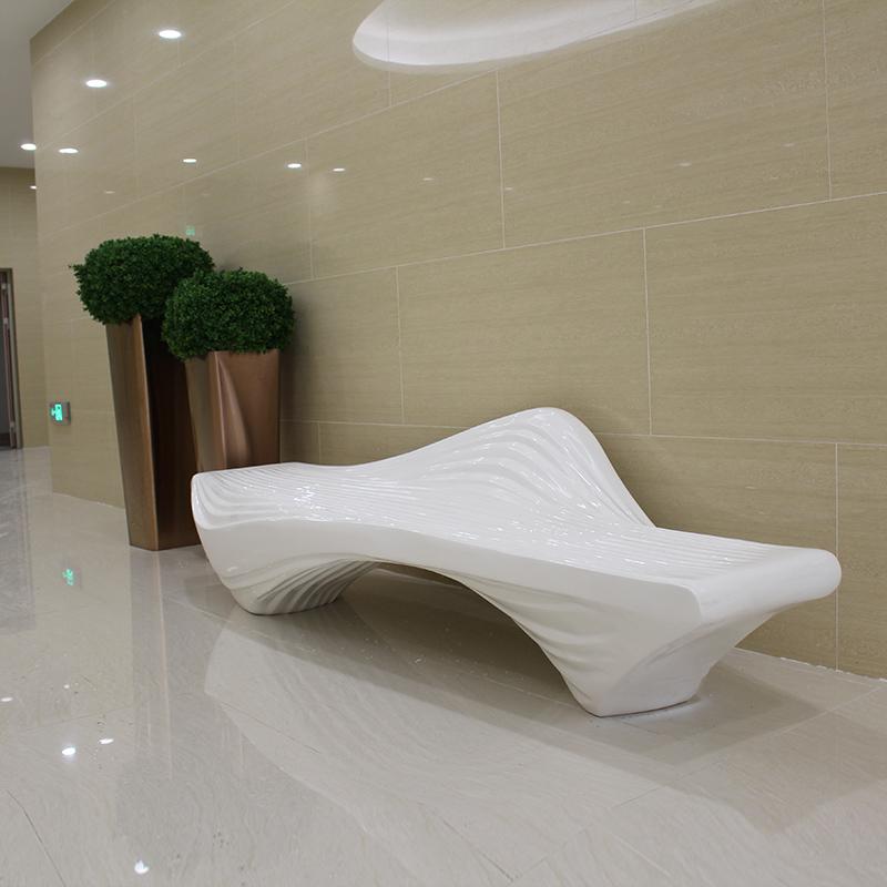 这样的玻璃钢休闲座椅,真的是美呆了!