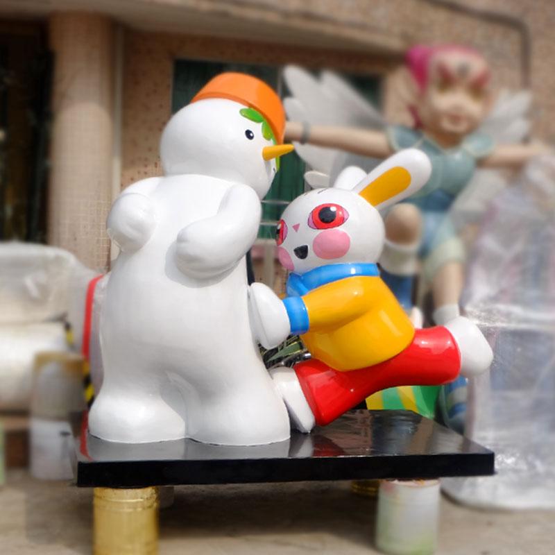 玻璃钢卡通雕塑,卡通儿童乐园的必备产品!
