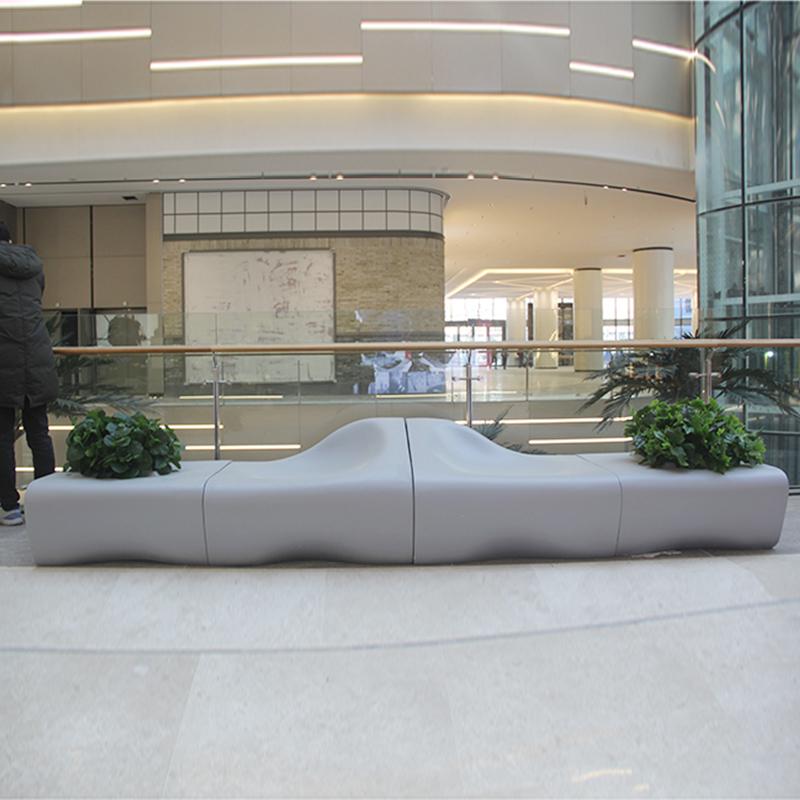 杜克的这些设计专利款玻璃钢商场座椅,你见过吗?