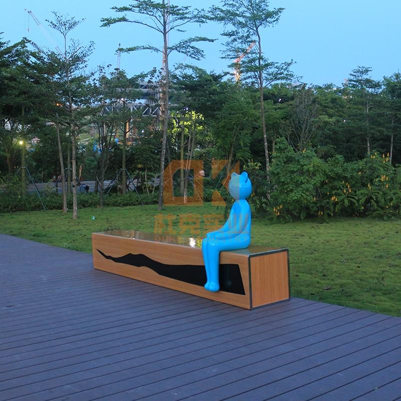 玻璃钢公园椅有什么样的优势?