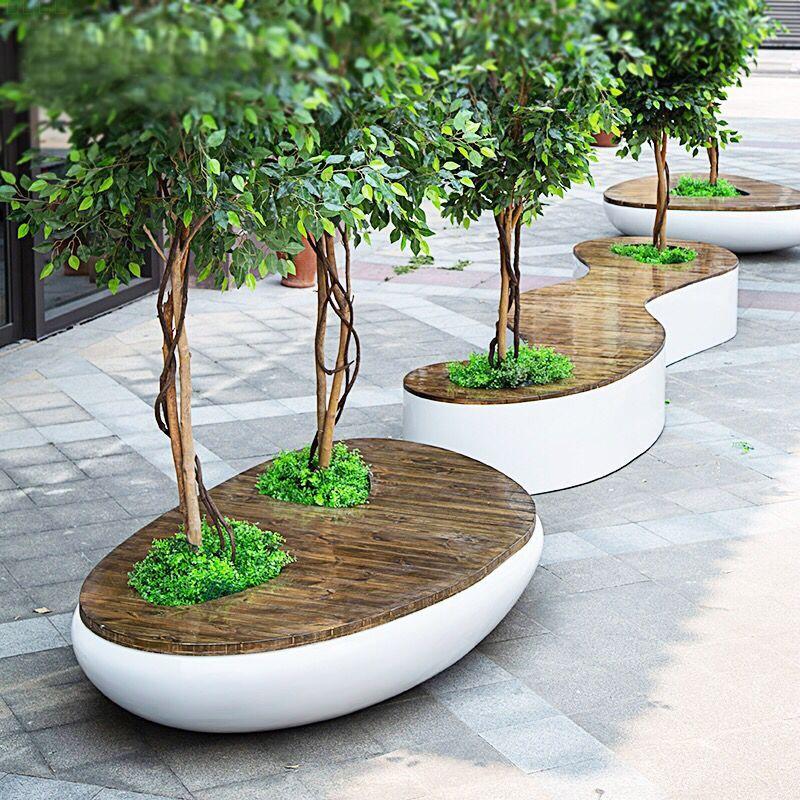 景观坐凳,这样的坐凳才称得上是景观!