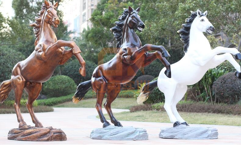 玻璃钢马雕塑,这些马雕塑你更喜欢哪一种!