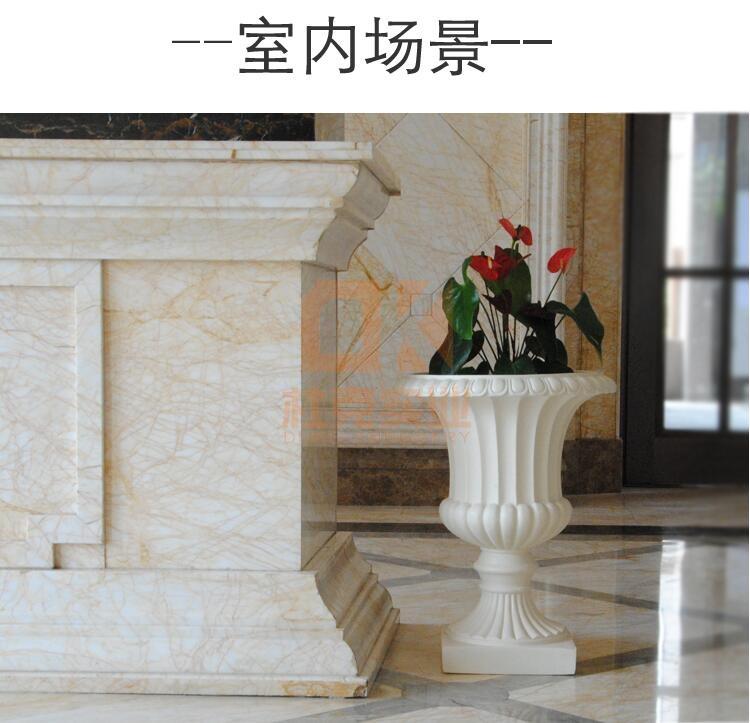 欧式玻璃钢大花盆