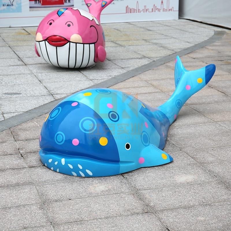 玻璃钢鱼雕塑,大家都喜欢定制这款!