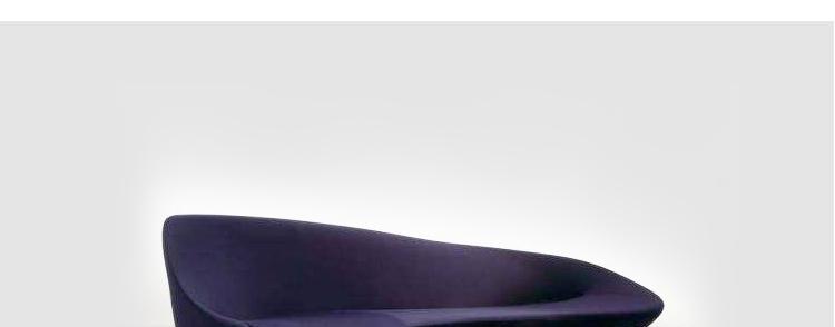 玻璃钢月亮沙发