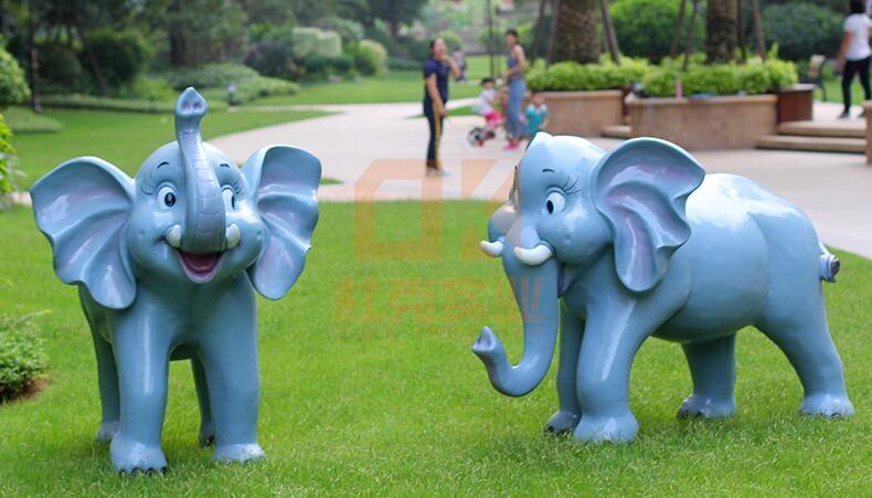 玻璃钢小区雕塑,小区大家都喜欢放这些雕塑!