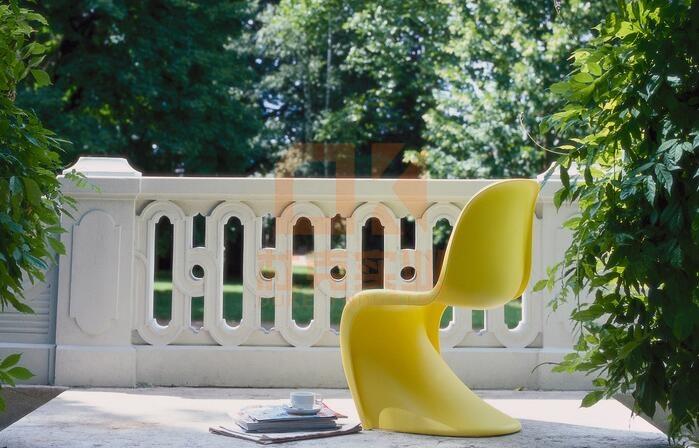 玻璃钢Vitra休闲椅