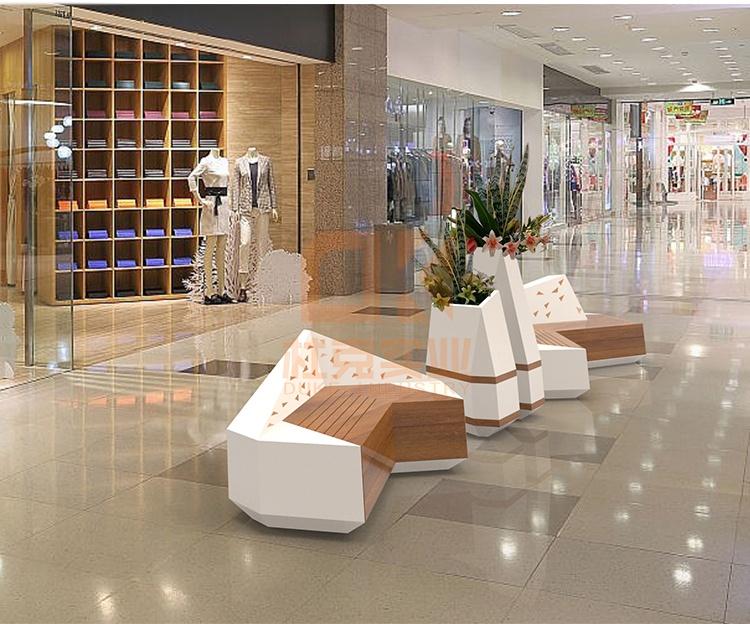 商场休闲椅,大家都喜欢这10款玻璃钢座椅!