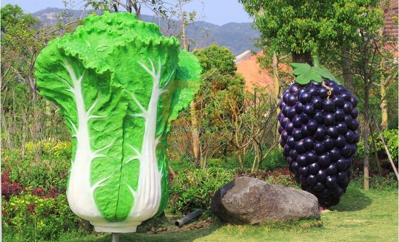 这些仿真玻璃钢水果蔬菜雕塑,你见过吗?
