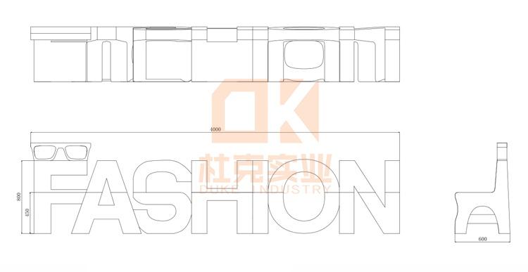 玻璃钢fashion椅
