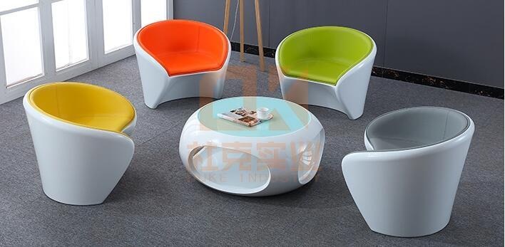 玻璃钢简约时尚糖果沙发,雅致简朴!