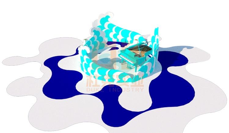 玻璃钢海洋系列美陈
