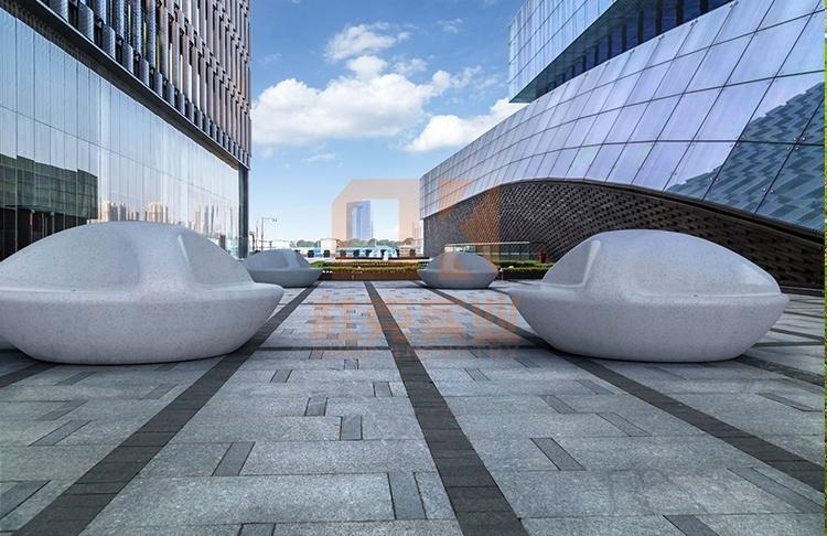 玻璃钢户外圆形创意坐凳