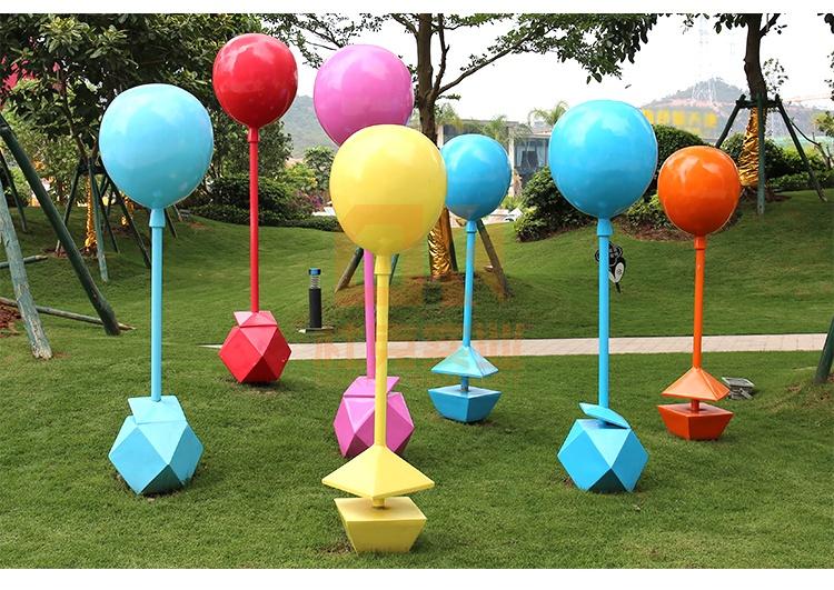 不锈钢气球雕塑