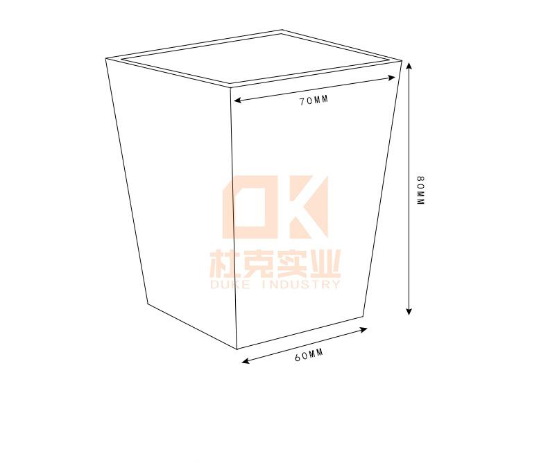 玻璃钢户外方形花箱