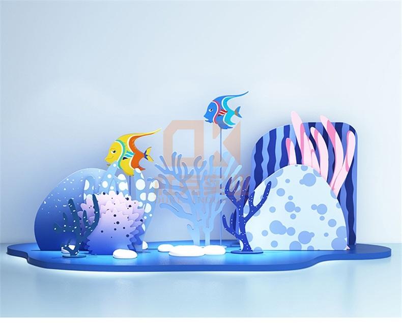 玻璃钢海洋美陈