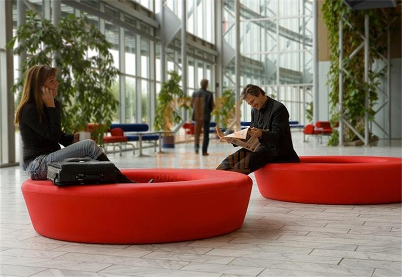 玻璃钢圆形座椅定制
