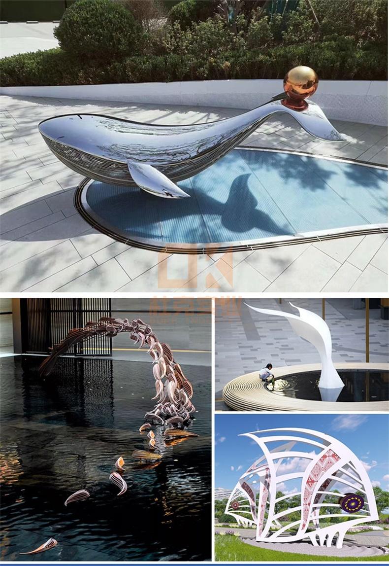 海洋美陈雕塑定制