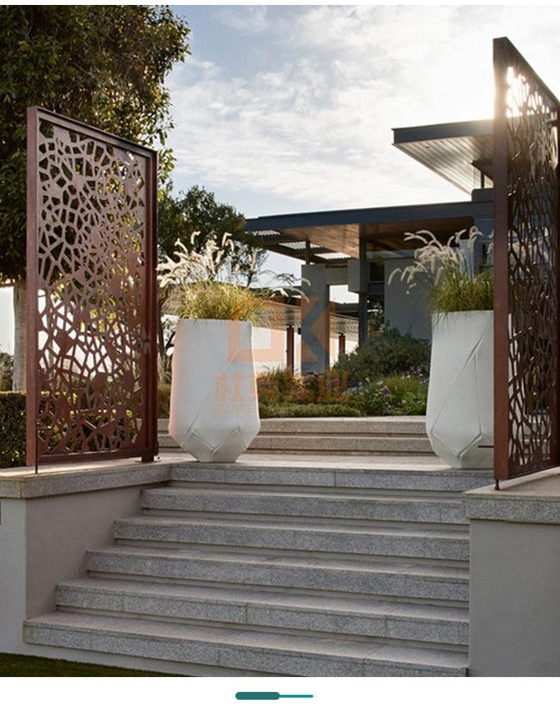 玻璃钢户外景观创意花盆